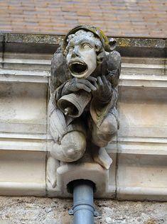 Gargoyle from Château de Blain, France (gargouille 4).jpg