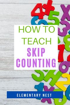 Learn more about teaching skip counting in this grade math unit. There are anchor charts, activities, and other strategies to help students learn how to fluently skip count by various numbers within Teaching Second Grade, Second Grade Math, Skip Counting Activities, Math Activities, Student Learning, Teaching Math, Teaching Place Values, Types Of Learners, Math Writing
