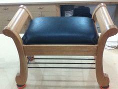 Sleigh style bench - Reader's Gallery - Fine Woodworking