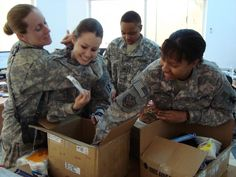 Invite your neighbors to help put together care packages for soldiers serving overseas!