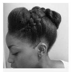 natural Hair style @nakawunde