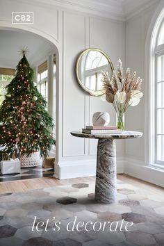 Decor, Interior, Seasonal Decor, Farmhouse Christmas Decor, Silver Christmas Decorations, Home Decor, Farmhouse Christmas, Gold Tree Topper, Christmas Decorations Living Room