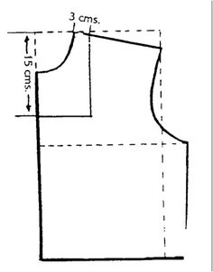 Cómo hacer algunos tipos de escotes (II)