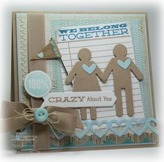 Document It - Off the Chart, Journal It - For the Record, Boy Meets Girl Die-namics, Accent It - Labels and Tabs Die-namics - Cindy Lawrence Love Valentines, Valentine Day Cards, Wedding Anniversary Cards, Wedding Cards, Creative Closets, Boy Meets Girl, Silhouette Cameo Projects, Altered Books, Greeting Cards Handmade