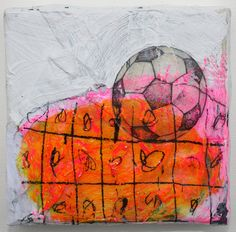 painting soccer football euro 2012 european by eeliethel on Etsy, $70.00