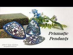 Prismatic Pendants-Polymer Clay Video Tutorial