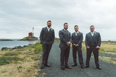 Pin for Later: This Stormy Wedding Showcases the Haunting Beauty of Overcast Skies