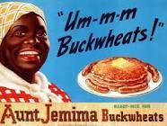 "Aunt Jemima Buckwheats Anna Short Harrington served as the original ""Aunt Jemima"" Vintage Advertisements, Vintage Ads, Vintage Signs, Vintage Posters, Vintage Black, Retro Ads, Best Pancake Mix, Aunt Jemima Pancakes, Art"