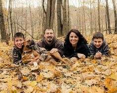 Fall Family Photos With The Dog