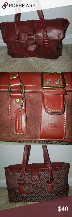 Vintage Coach Handbag Beautiful vintage Coach handbag. Coach Bags