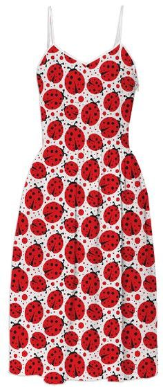 Ladybug Magic Dress from Print All Over Me