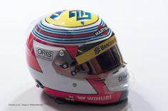 Felipe Nasr 2014 Helmet
