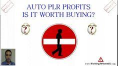Auto PLR Profits Review