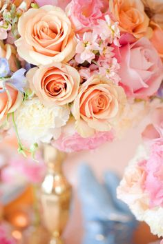 Wedding Flower Arrangement - Stunning Floral Centerpieces For Spring Wedding