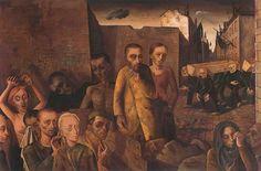 Felix Nussbaum art stuff, art decad, figurativefigur, art iv, holocaust art, felix nussbaum, paintingsdrawingsprint, uncanni art, art shows