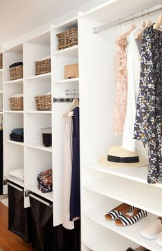 Love It Or List It Vancouver: Jennifer & Robert. How's this for an organized closet?! YES!!