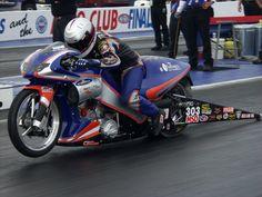 NHRA Pro Stock Motorcycle Drag Racing