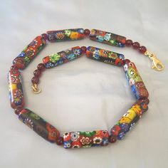 Hey, I found this really awesome Etsy listing at https://www.etsy.com/listing/191515372/vintage-venetian-mille-fiori-glass-bead