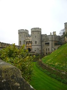 Windsor Castle  My 18h Great Grandfather,Edward III King of England lived there.  1312-1377