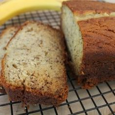 Super Moist Banana Bread- I have 3 of these in the oven as I type :p Looks delicious, I added a small amt. more of flour, a few extra bananas and added chocolate chips :)