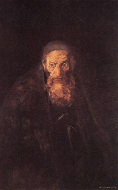 Mednyanszky, Laszlo (1852-1919) - Shylock (Hungarian National Gallery, Budapest) Drawing Artist, Painting & Drawing, New York Galleries, National Gallery, Literary Characters, Austro Hungarian, Creepy Art, Photo Illustration, Figure Painting