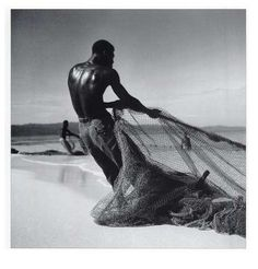 Toni Frissell: ''Jamaican Fishermen''