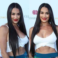 Nikki Bella Photos, Nikki And Brie Bella, Brie Bella Wwe, Bella Sisters, Famous Twins, Bad Dresses, Wwe Girls, Wrestling Divas, Wwe Womens