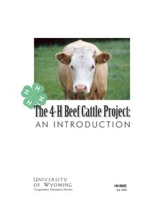 The market beef project is for the 4-H member interested in nutrition, fitting, and showing cattle. They may own and care for one or more market animals. Click image to read more.