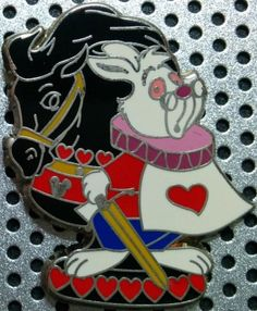 View Pin: DLR HM 2008 - Alice in Wonderland Chess Pieces - White Rabbit