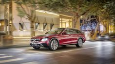 Mercedes-Benz E-Class All-Terrain: The Newest Audi Allroad competitor - http://www.quattrodaily.com/mercedes-benz-e-class-terrain-newest-audi-allroad-competitor/