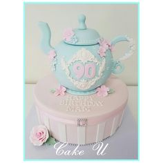 Teapot and Hatbox Cake - Cake by Veronica