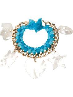 AURELIE BIDERMANN 'Do Brasil' charms bracelet - on Vein - getvein.com