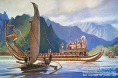 Tahiti War Canoe