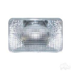 Headlight Lens, Club Car DS 93+