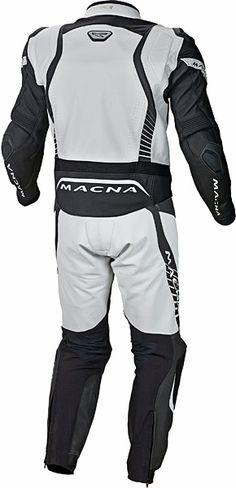 Macna Flash 2-Piece Leathers - Rear View