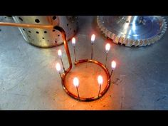 Turbofan - making the fuel and lubrication systems - silver solder Model Jet Engine, Jet Engine Parts, Rc Model, Engineering, Candles, Homemade, Rockets, Boat, Design