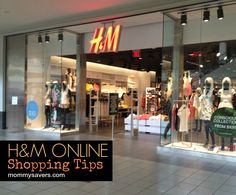 H&M Stores Shopping Tips and Clothing Coupons