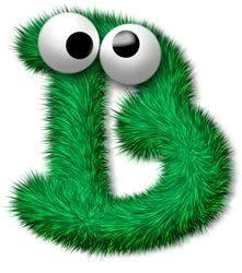 Brian Alphabet Letters Images, Cute Alphabet, Alphabet Design, Alphabet Art, Letter B, Alphabet And Numbers, Abc Monsters, Cartoon Monsters, Smileys