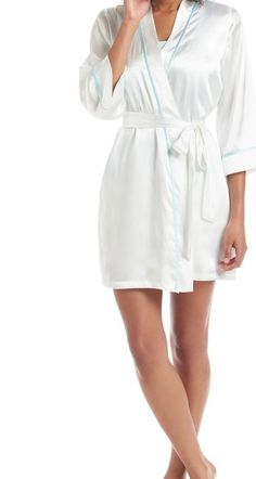 The perfect robe to prep for your big day in.
