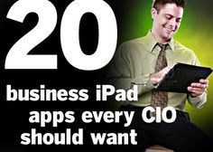 Applications make the business sector work smarter and here's a list of 20 that are for iPad.  20 iPad Business Apps Every CIO Should Want CIO.com