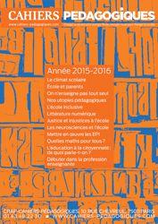 En ce jour d'ouverture de la COP21, il en sera bien sûr question, mais pas que. On parle encore du rapport de l'OCDE Regards sur l'éducation 2015. Et des rapports, il y en a d'autres que nous vous signalons, ainsi que quelques réflexions plus générales....