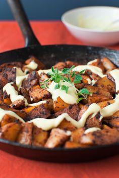 Potatoes with Paprika and Quick Homemade Spanish Aioli