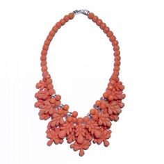 Salmon necklace by Ek Thongprasert