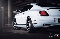 "Bentley continental supersports | Vellano Forged Wheels | VTV 22"" concave"