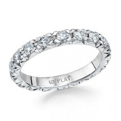 Whitehouse Brothers French Pave Eternity Ring