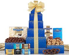 Happy Spring Ghirardelli Chocolate Gift Tower by Wine Country Gift Baskets, 2 Pound Wine Country Gift Baskets, Gourmet Gift Baskets, Gourmet Gifts, Food Gifts, Gourmet Foods, Chocolate Gifts, Chocolate Lovers, Chocolate Hazelnut