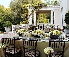 Apple Green Centerpiece #wedding by @nancyliuchin