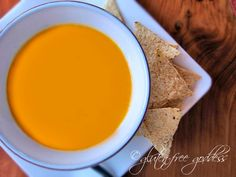 Curried Butternut squash soup recipe with coconut milk