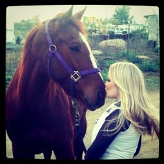 The unbreakable bond between a girl and her horse.