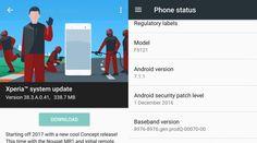 Sony libera actualización de Android 7.1.1 Nougat para el Xperia X